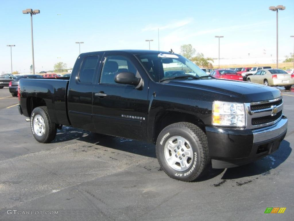 black 2008 chevrolet silverado 1500 lt extended cab exterior photo 39559735. Black Bedroom Furniture Sets. Home Design Ideas