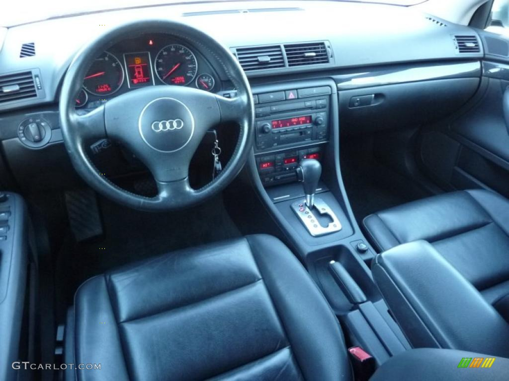 Ebony Interior 2004 Audi A4 1 8t Quattro Avant Photo