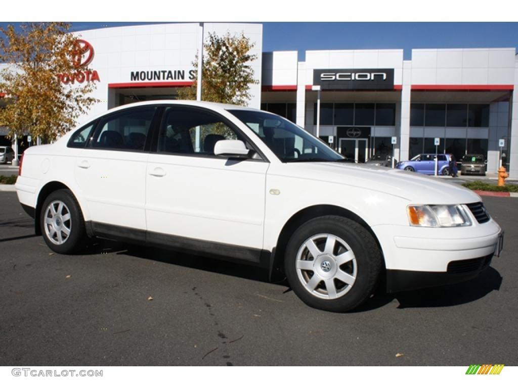 All Types passat 2000 : 2000 Candy White Volkswagen Passat GLS 1.8T Sedan #39502433 ...