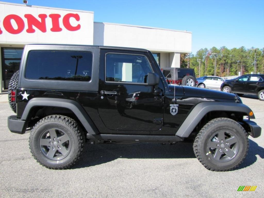 Black 2011 Jeep Wrangler Call of Duty: Black Ops Edition 4x4 ...