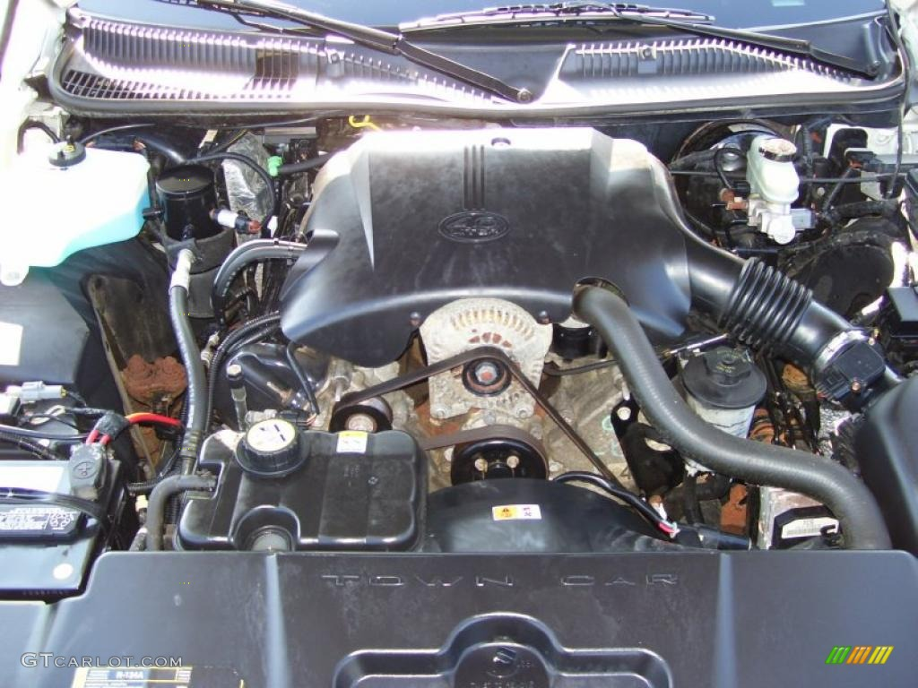 service manual  how to fix 2001 lincoln town car engine