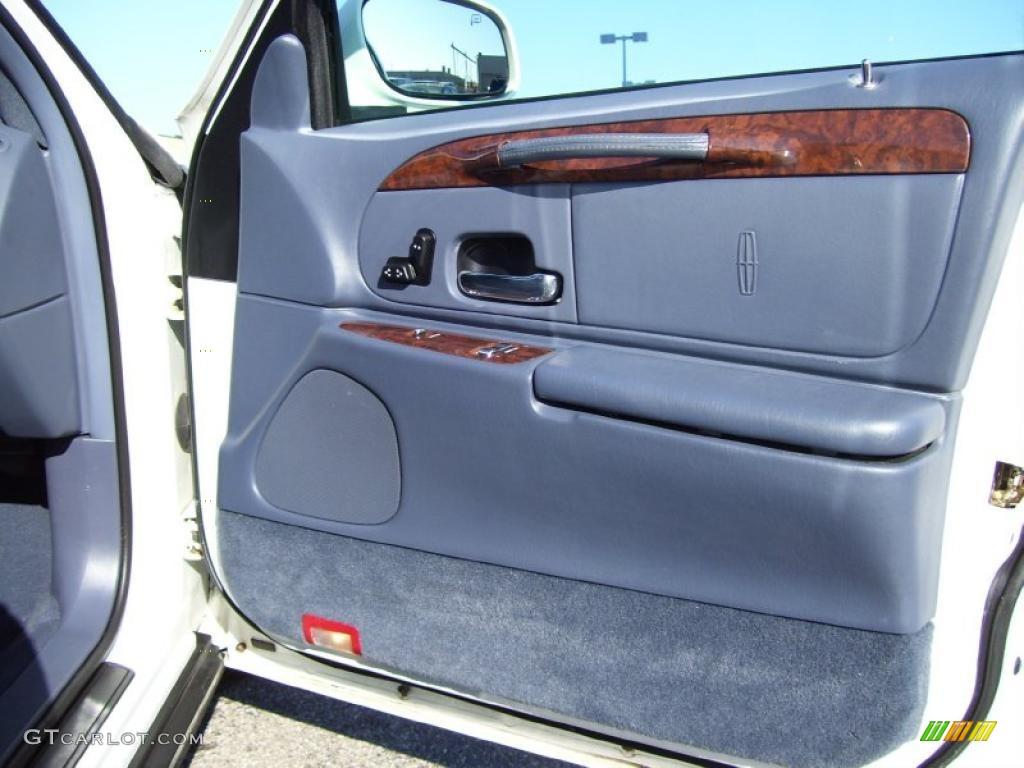 2001 lincoln town car executive deep slate blue door panel for Slate blue front door