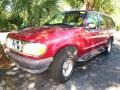 1996 Electric Red Metallic Ford Explorer XLT #39597619