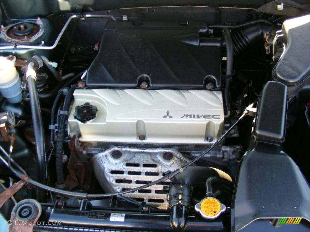2005 Mitsubishi Outlander Ls Awd 2 4 Liter Sohc 16 Valve Mivec 4 Cylinder Engine Photo 39610133