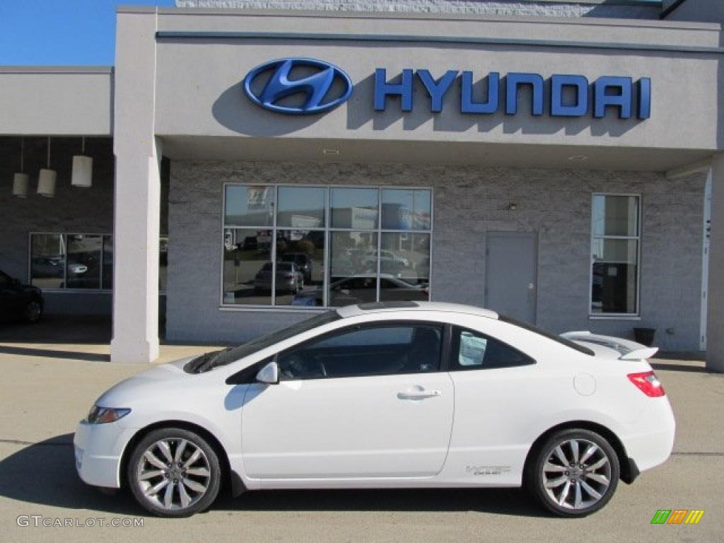 taffeta white 2009 honda civic si coupe exterior photo 39610537