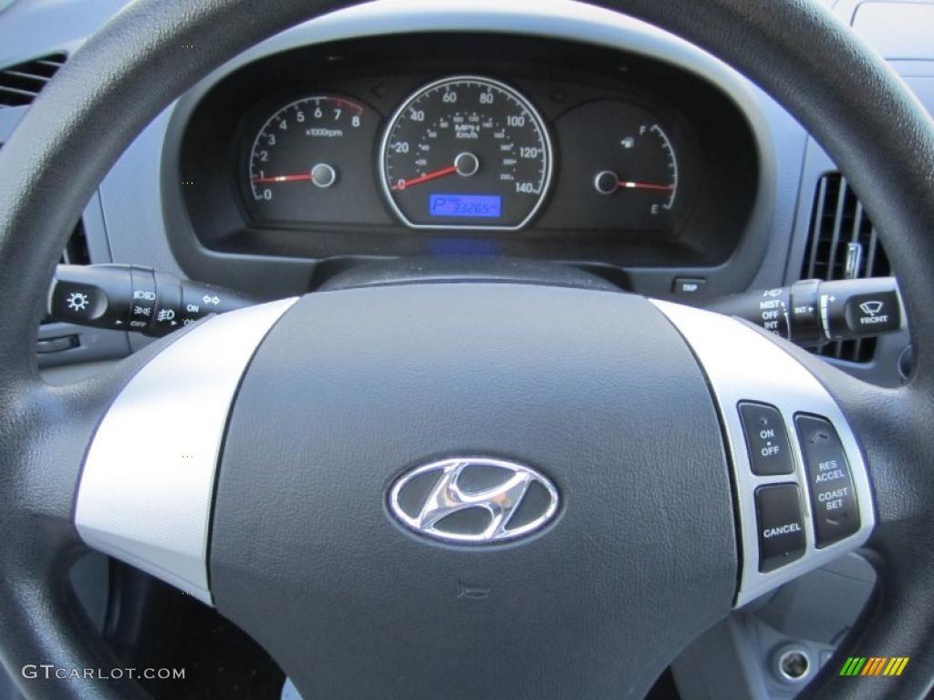 2009 Hyundai Elantra Gls Sedan Gauges Photo 39615501 Gtcarlot Com