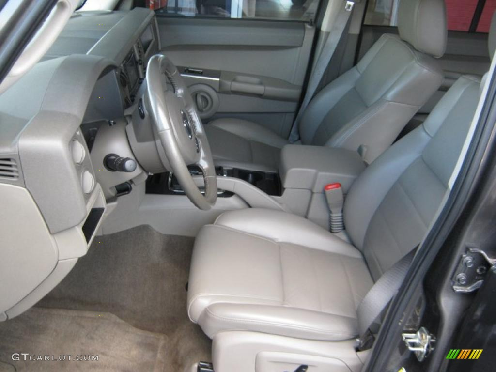 2006 Jeep Commander Standard Commander Model Interior