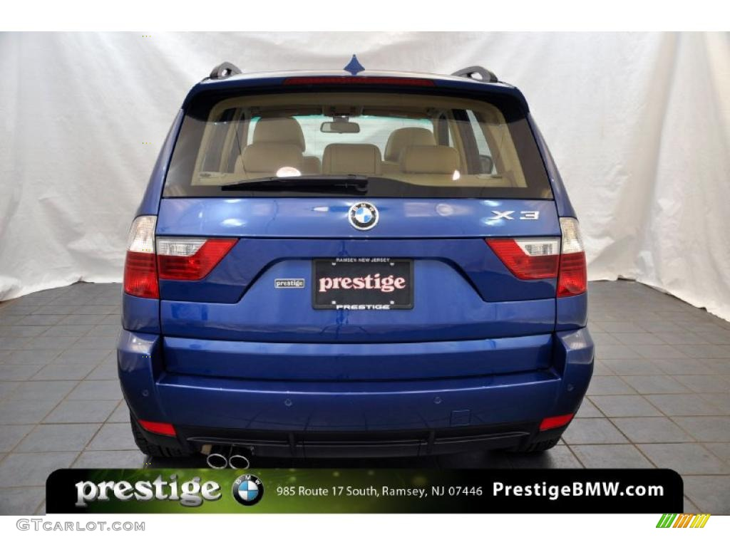 Bmw x3 2008 blue viewing gallery