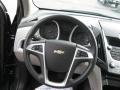 Jet Black/Light Titanium Steering Wheel Photo for 2010 Chevrolet Equinox #39632374