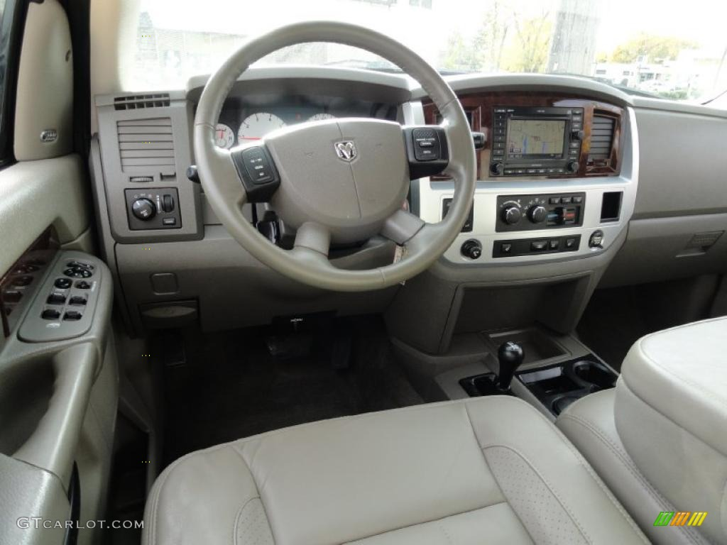 Medium Slate Gray Interior 2008 Dodge Ram 2500 Slt Quad Cab 4x4 Photo 39633270