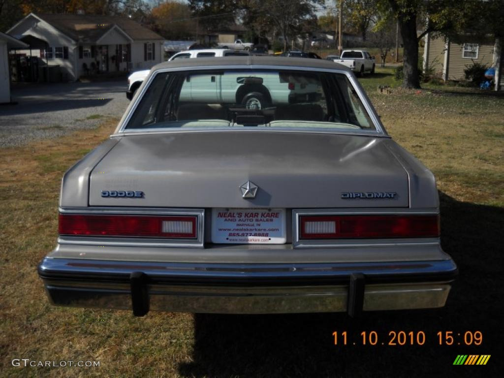 1988 Pewter Metallic Dodge Diplomat Sedan  39597981 Photo