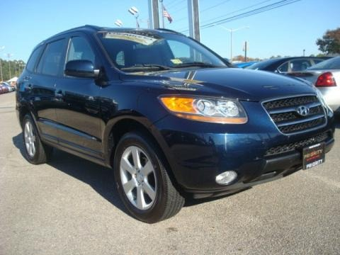 2007 hyundai santa fe limited data info and specs. Black Bedroom Furniture Sets. Home Design Ideas