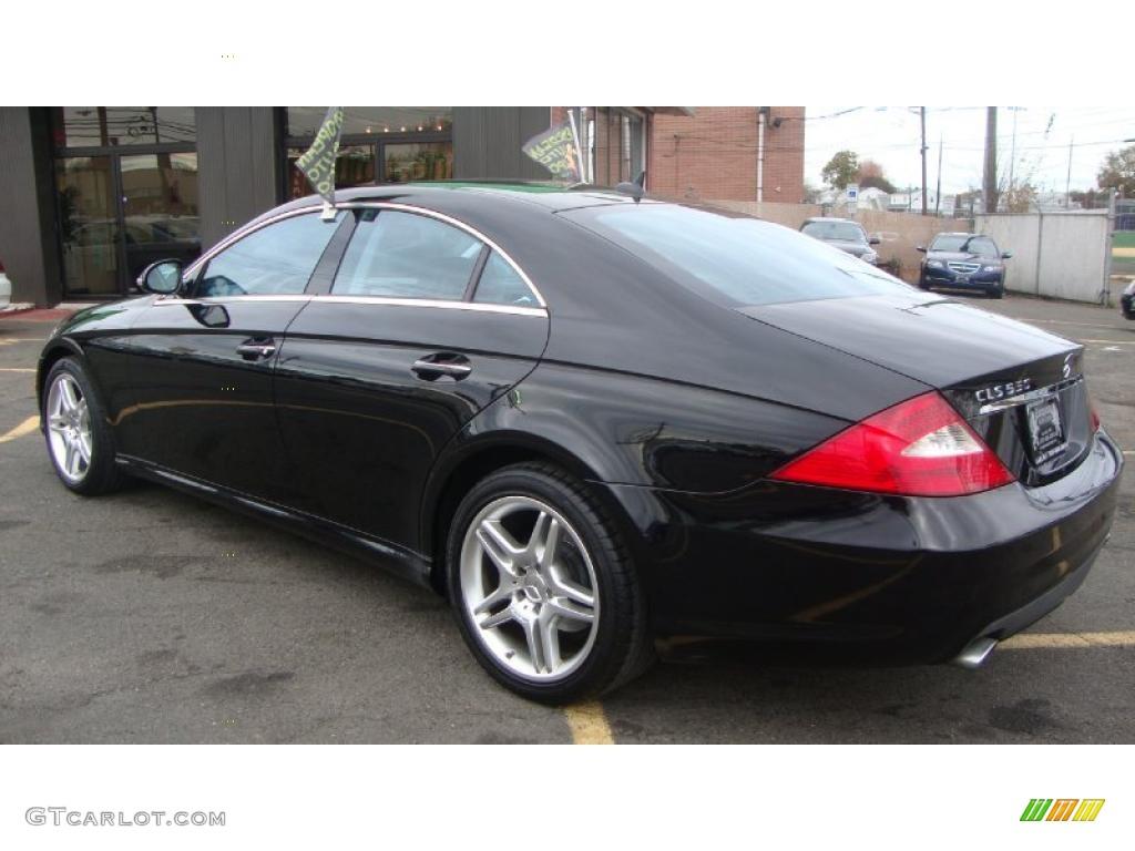 Black interior 2007 mercedes benz cls 550 photo 39643991 for 2007 mercedes benz cl 550