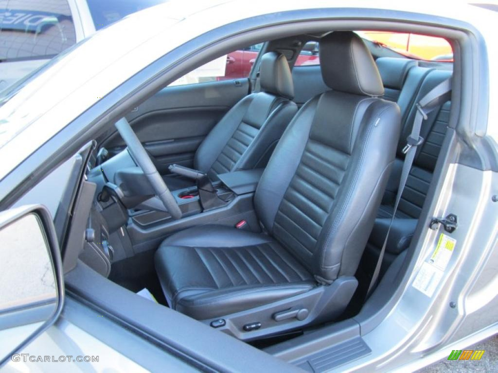 Dark Charcoal Interior 2008 Ford Mustang Gt Premium Coupe Photo 39667859