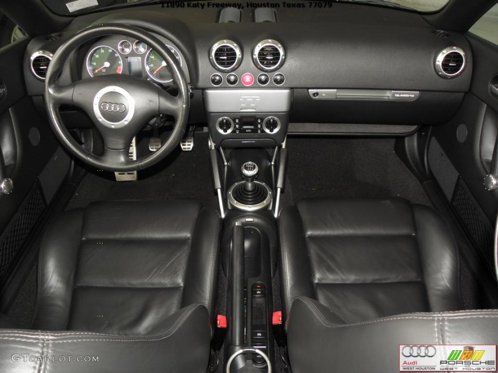 Ebony Interior 2002 Audi Tt 1 8t Quattro Roadster Photo  39672583