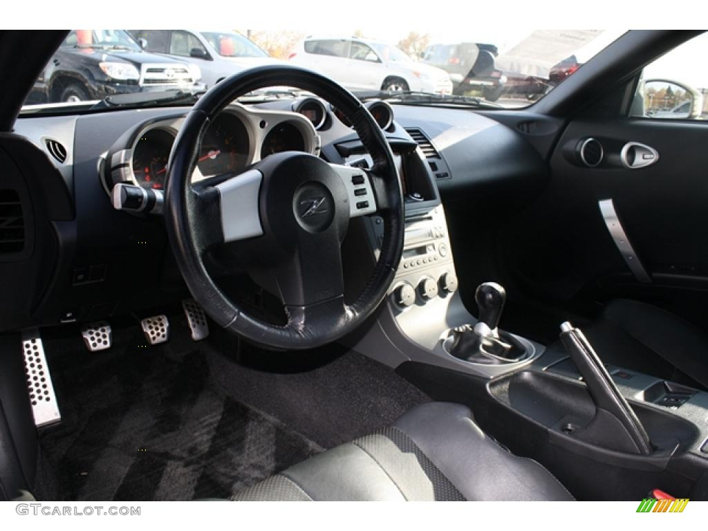 charcoal interior 2003 nissan 350z touring coupe photo. Black Bedroom Furniture Sets. Home Design Ideas