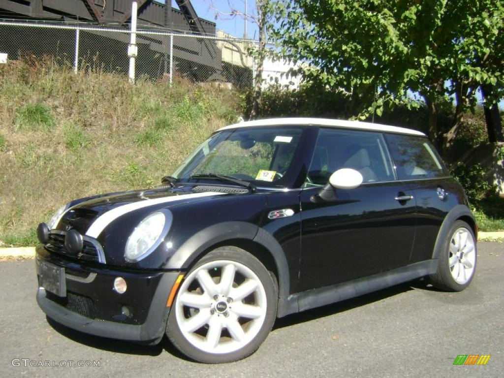 2003 jet black mini cooper s hardtop 39667031 car color galleries. Black Bedroom Furniture Sets. Home Design Ideas
