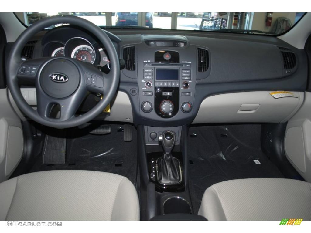 2011 Kia Forte Lx Stone Dashboard Photo 39688019