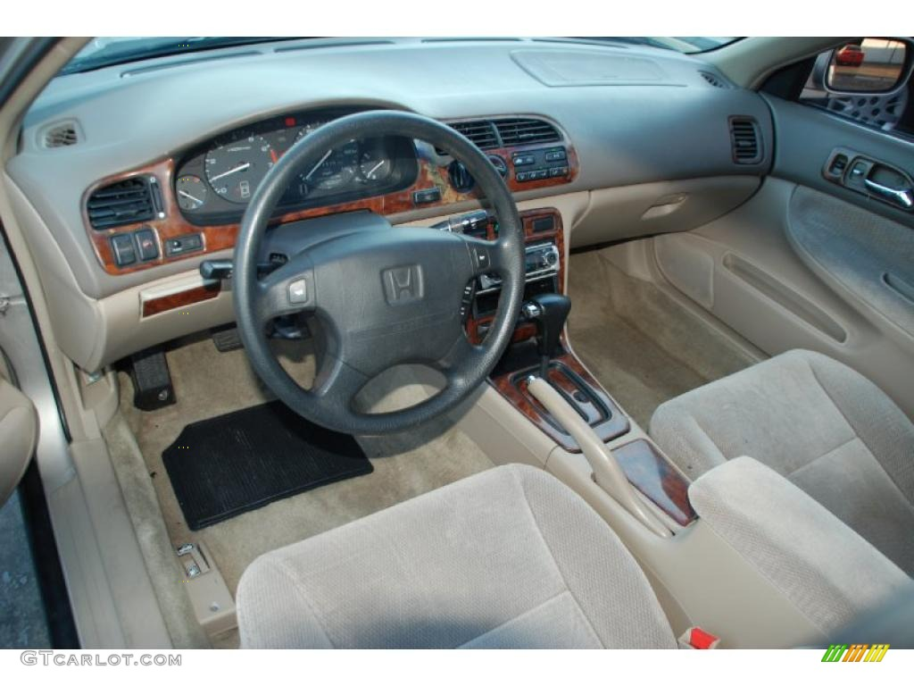 Ivory Interior 1997 Honda Accord LX Sedan Photo #39695723