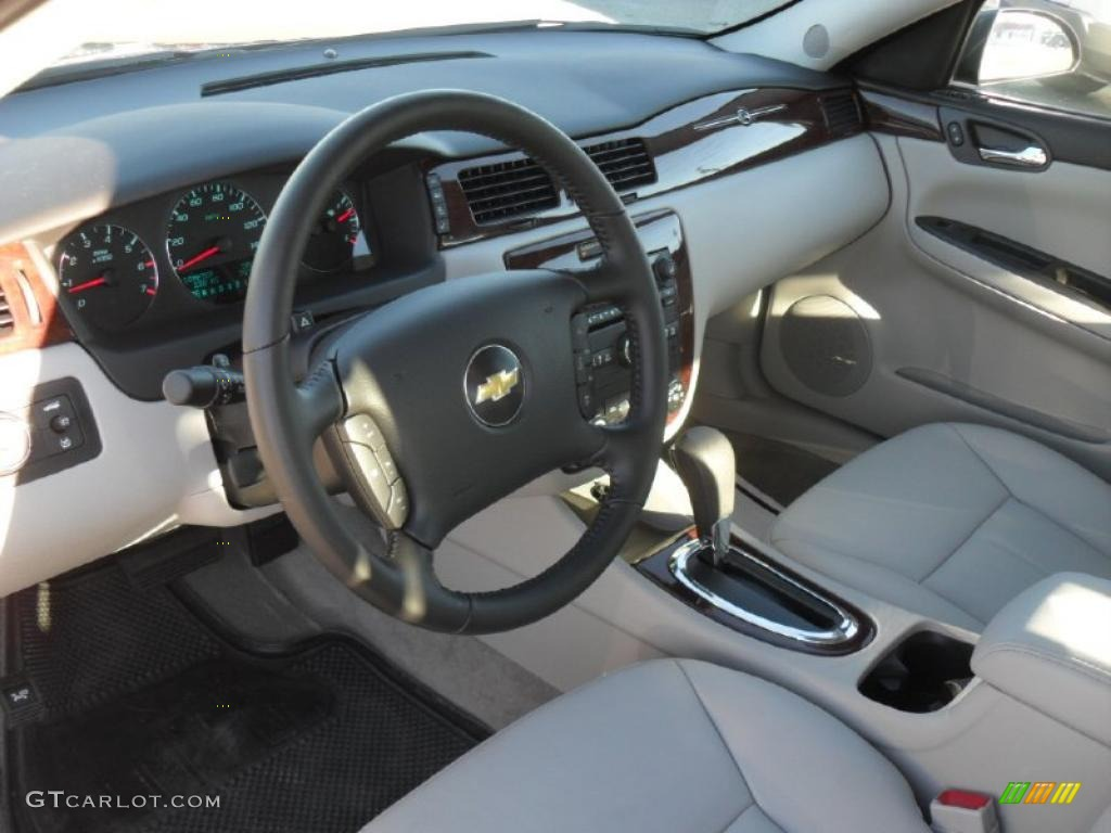 Gray Interior 2011 Chevrolet Impala Ltz Photo 39703383