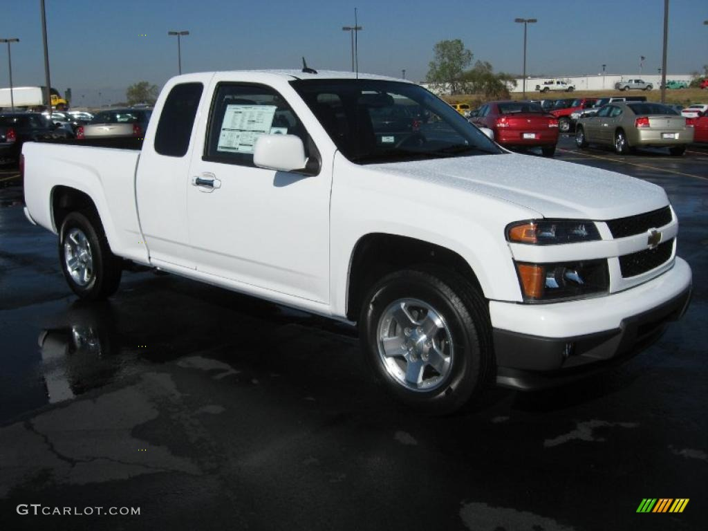 summit white 2011 chevrolet colorado lt extended cab. Black Bedroom Furniture Sets. Home Design Ideas