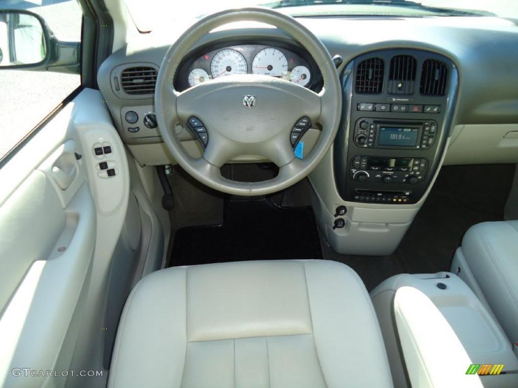 2006 Dodge Grand Caravan Sxt Dark Khaki Light Graystone