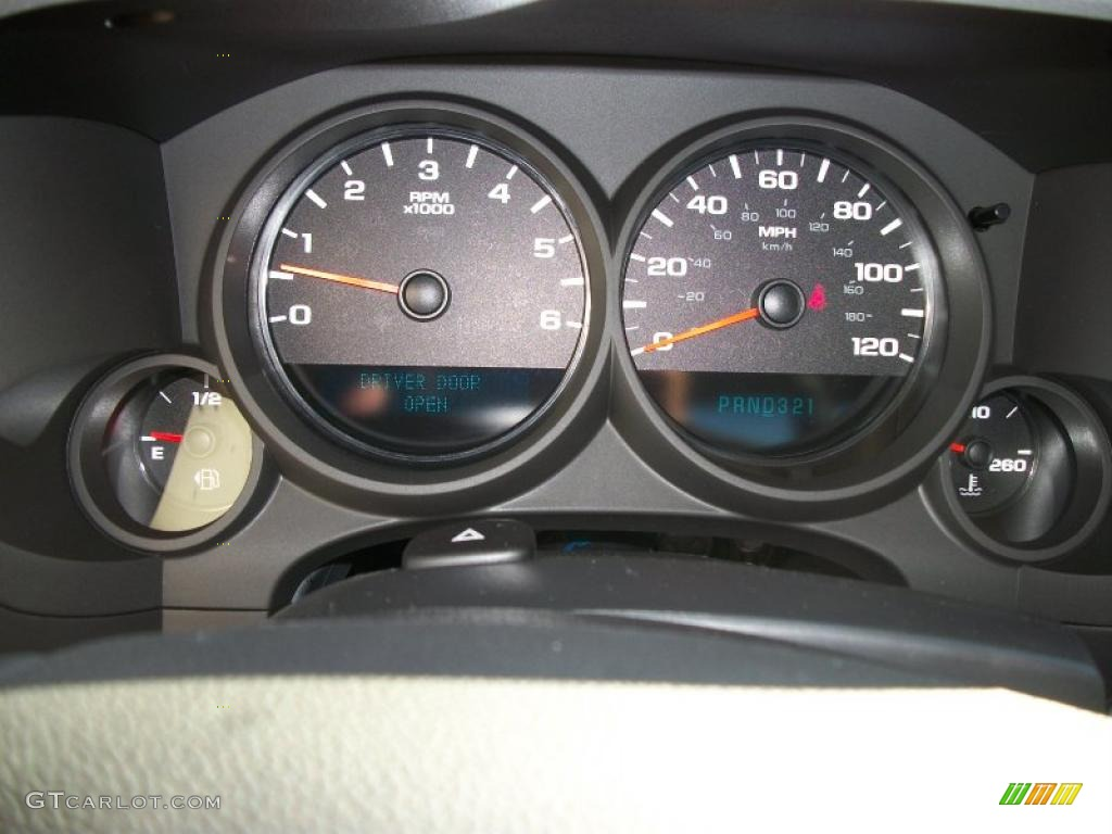 2011 Chevrolet Silverado 1500 Regular Cab 4x4 Gauges Photo #39713047