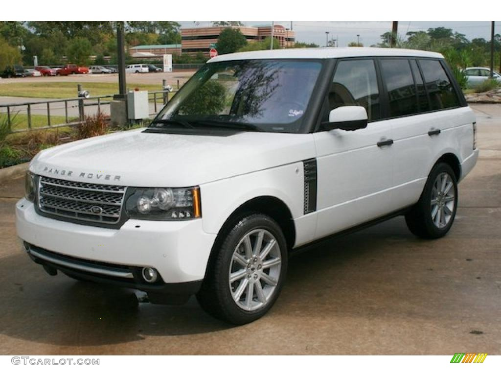 fuji white 2011 land rover range rover supercharged. Black Bedroom Furniture Sets. Home Design Ideas