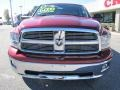 2011 Deep Cherry Red Crystal Pearl Dodge Ram 1500 Big Horn Quad Cab 4x4  photo #2