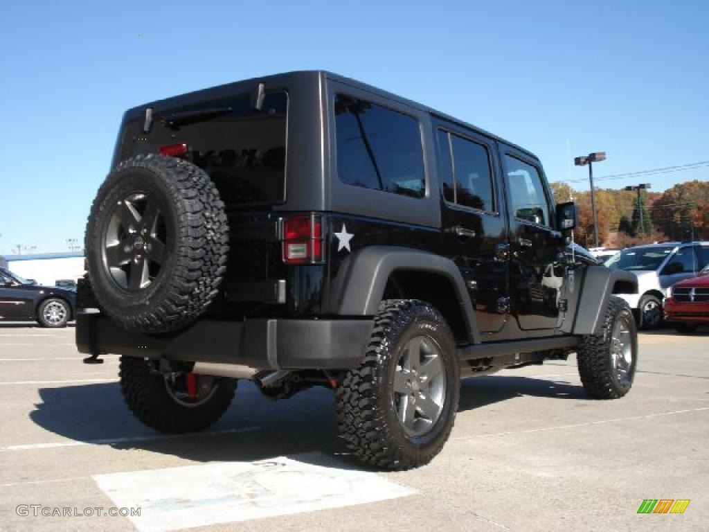 Jeep Wrangler Unlimited Rubicon Black Black 2011 Jeep Wrangler