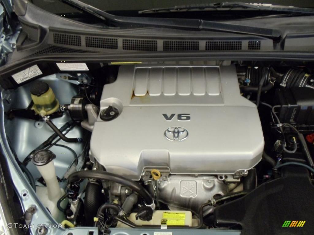 2007 Toyota Sienna Le 3 5 Liter Dohc 24