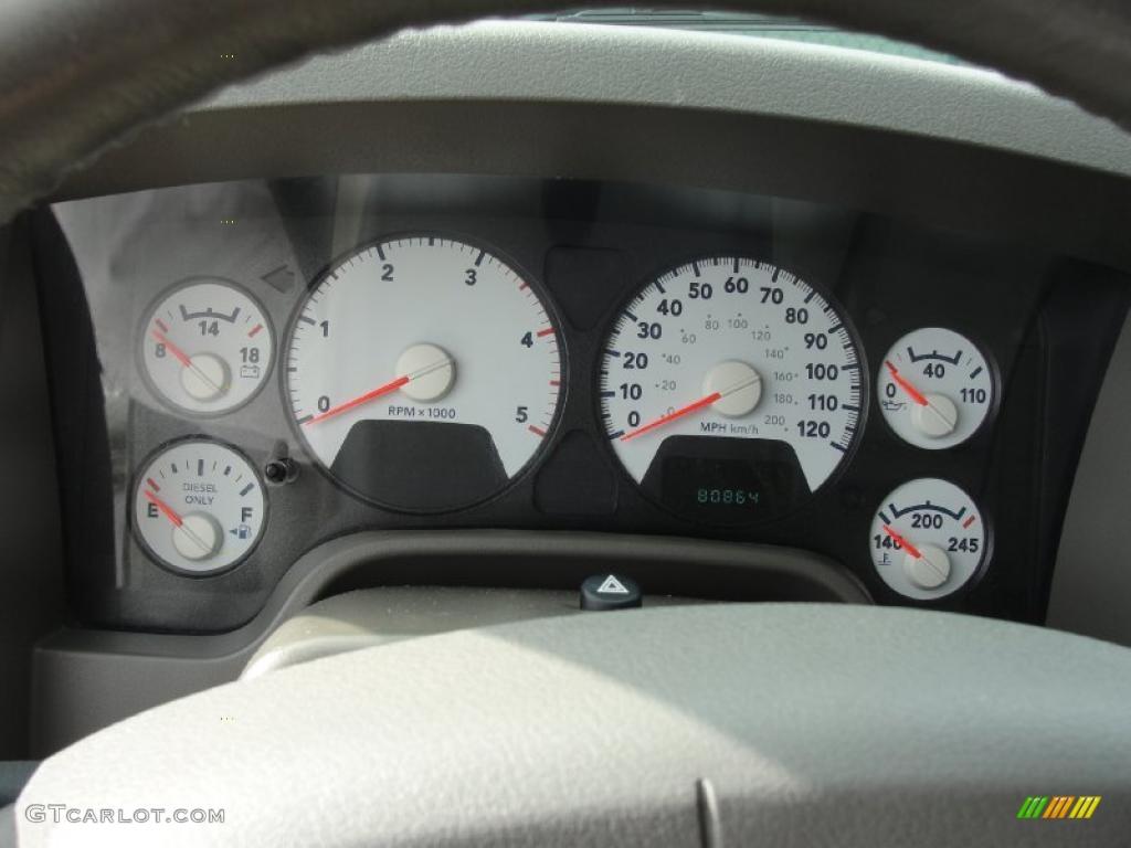 2007 Dodge Ram 3500 Lone Star Quad Cab Dually Gauges Photos