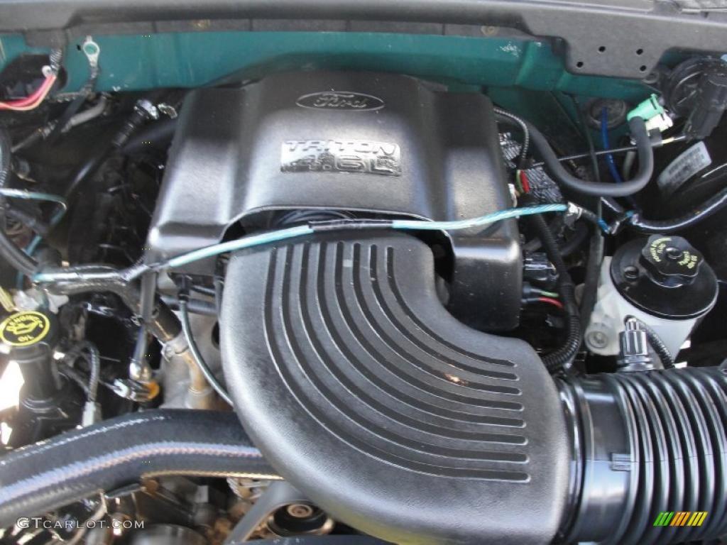 2000 ford f150 lariat extended cab 4 6 liter sohc 16 valve for Motor ford f150 v8
