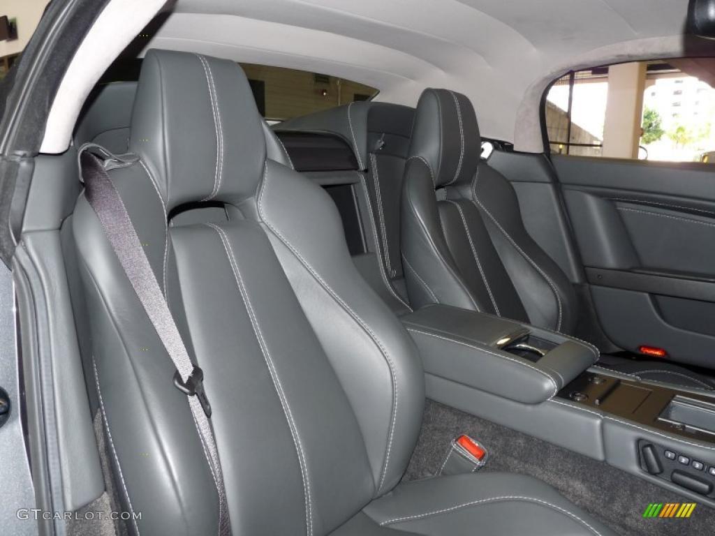 Phantom Grey Interior 2008 Aston Martin V8 Vantage Roadster Photo