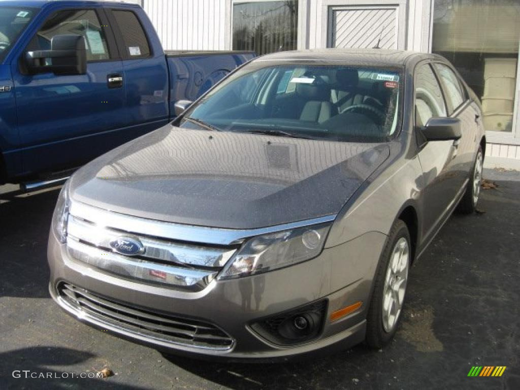2011 Fusion SE V6 - Sterling Grey Metallic / Charcoal Black photo #1