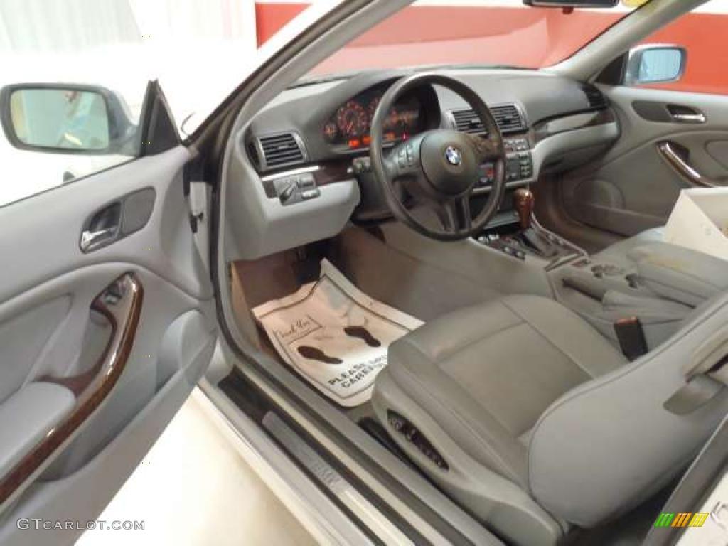 2001 Bmw 3 Series 325i Coupe Interior Photo 39741374