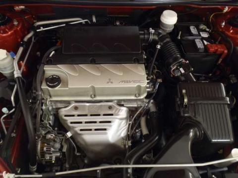 2008 Mitsubishi Eclipse SE Coupe 2.4L SOHC 16V MIVEC Inline 4 Cylinder
