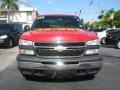 2006 Victory Red Chevrolet Silverado 1500 Extended Cab  photo #3