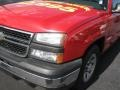 2006 Victory Red Chevrolet Silverado 1500 Extended Cab  photo #4