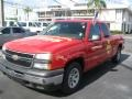 2006 Victory Red Chevrolet Silverado 1500 Extended Cab  photo #5