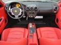 Red 2007 Ferrari F430 Interiors