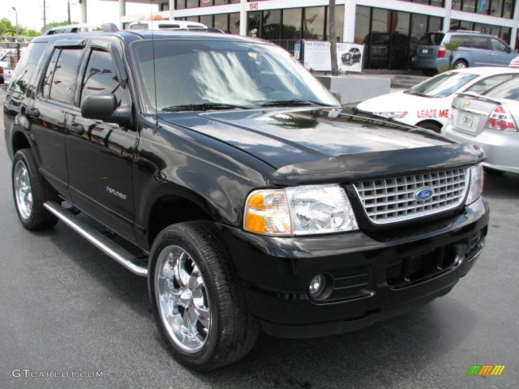 2004 Black Ford Explorer Xlt 39740685 Gtcarlot Com Car Color Galleries