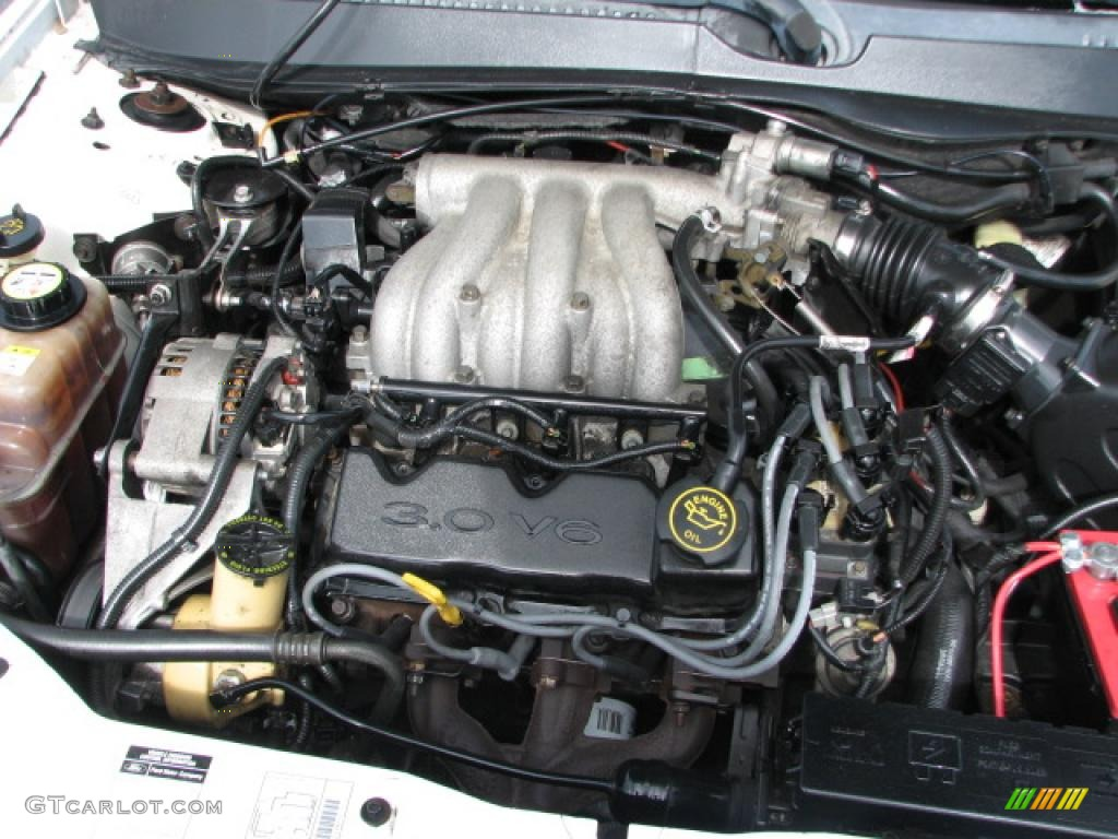 2000 Ford Taurus LX 3.0 Liter OHV 12-Valve Flex-Fuel V6 Engine Photo