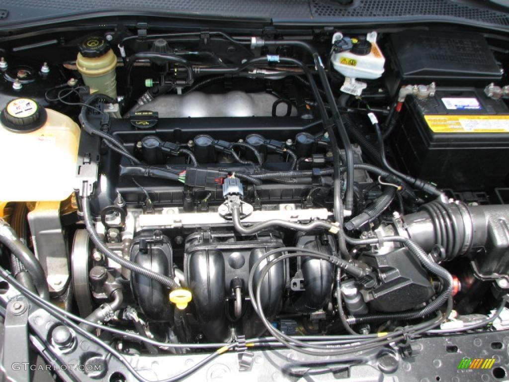 2005 Focus ZX4 SE Sedan - Pitch Black / Dark Flint/Light Flint photo #16