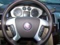2010 Cadillac Escalade Cashmere/Cocoa Interior Steering Wheel Photo