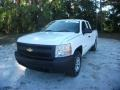 Summit White - Silverado 1500 Work Truck Extended Cab 4x4 Photo No. 14