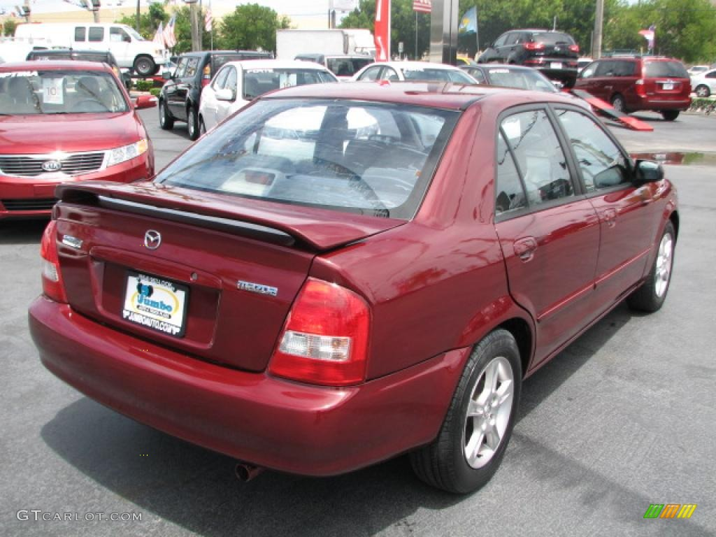 garnet red mica 2003 mazda protege lx exterior photo. Black Bedroom Furniture Sets. Home Design Ideas