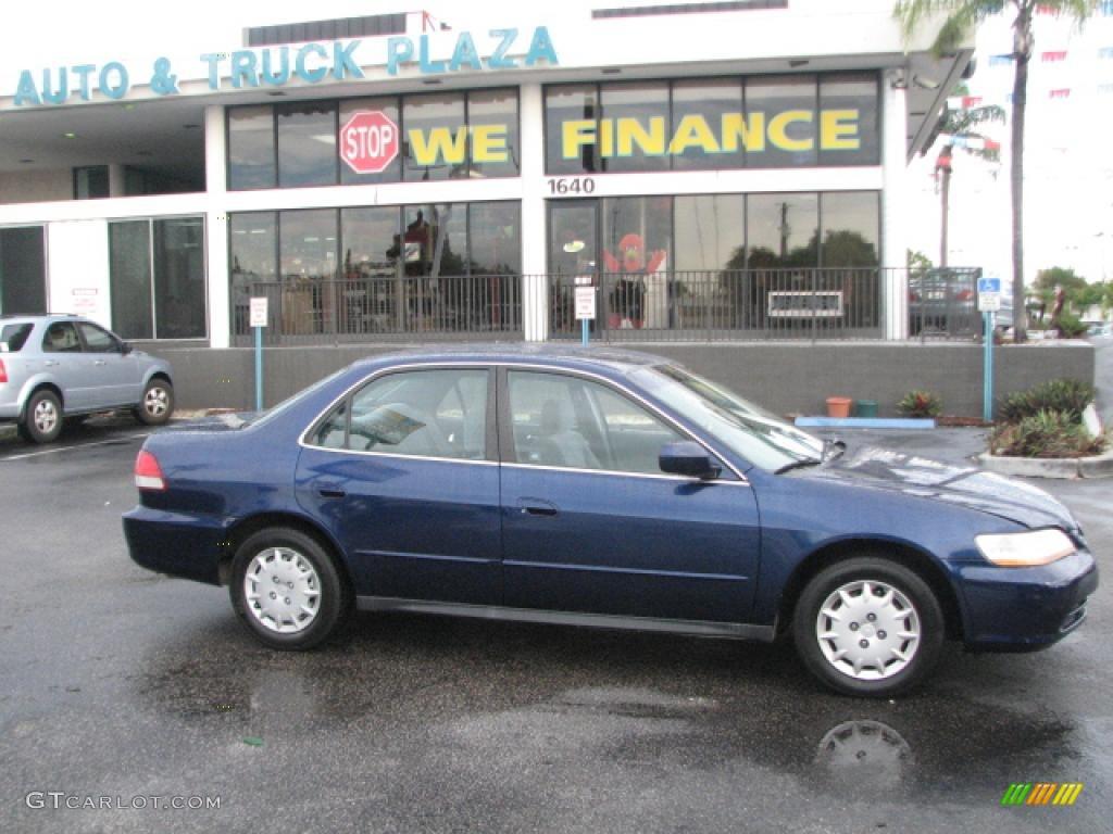 Eternal Blue Pearl Honda Accord. Honda Accord LX Sedan