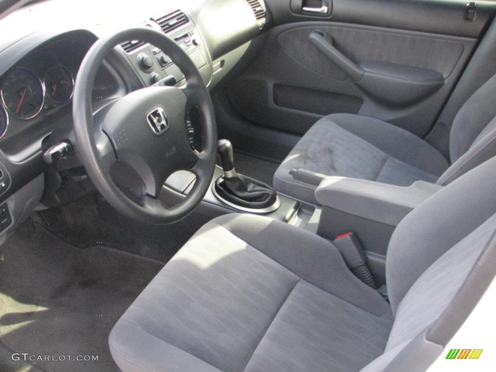 Civic Sedan Interior: 2003 Honda Civic LX Sedan Interior Photo #39760562