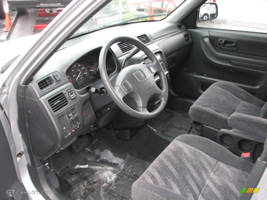 Dark Gray Interior 2001 Honda Cr V Lx Photo 39761026